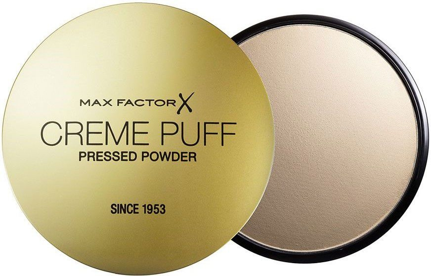 Poudre compacte (sans éponge) - Poudre pressée Max Factor Creme Puff