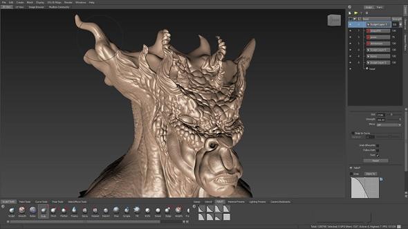 mudbox-3d-sculpting-screenshot
