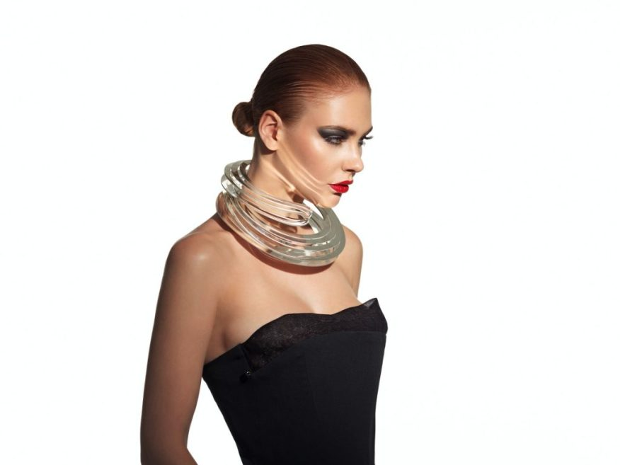 3D-printed Necklace by Maria Piana