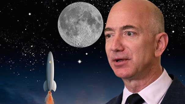 Amazon'un CEO'su Jeff Bezos Ay'da koloni kuracak
