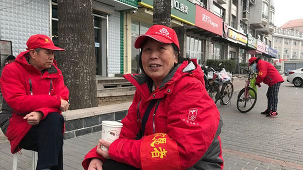 Pekin sokakları yüz binlerce 'güvenlik gönüllüsüyle' izleniyor
