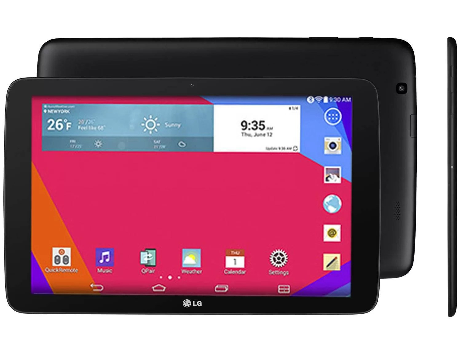 Tablet Lg G Pad 10 16gb Tela 10 1 Wi Fi Android 4 4