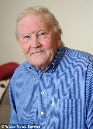 Gerald Grainger, 69, from South Wales who suffered a near death experience when he had a heart attack in June last year