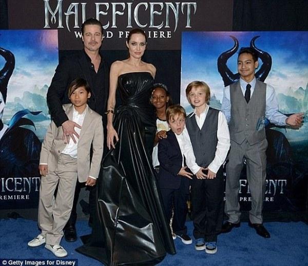 Brad Pitt 'hasn't seen his kids' since wife Angelina Jolie ...