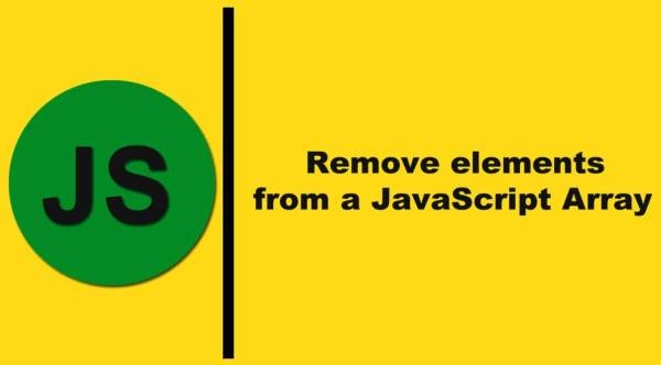 4 Ways to remove elements from a JavaScript Array for ...