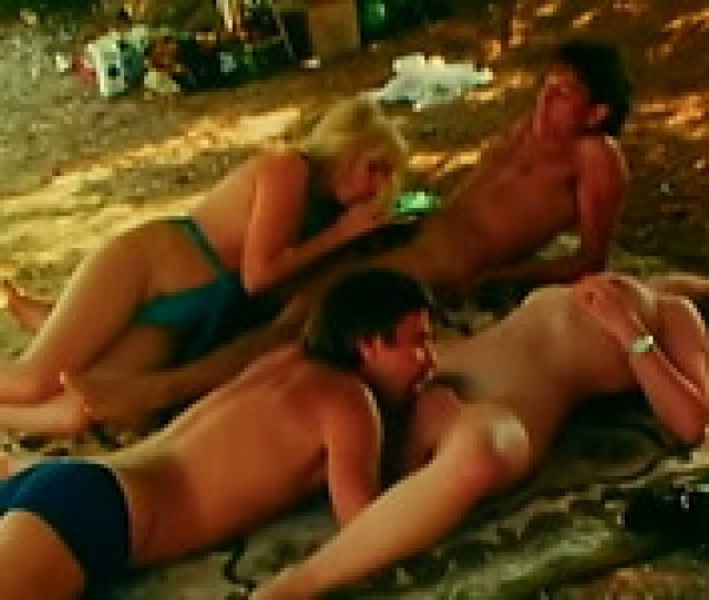 Retro Sex Video With Two Amateur Couples Banging On A Beach