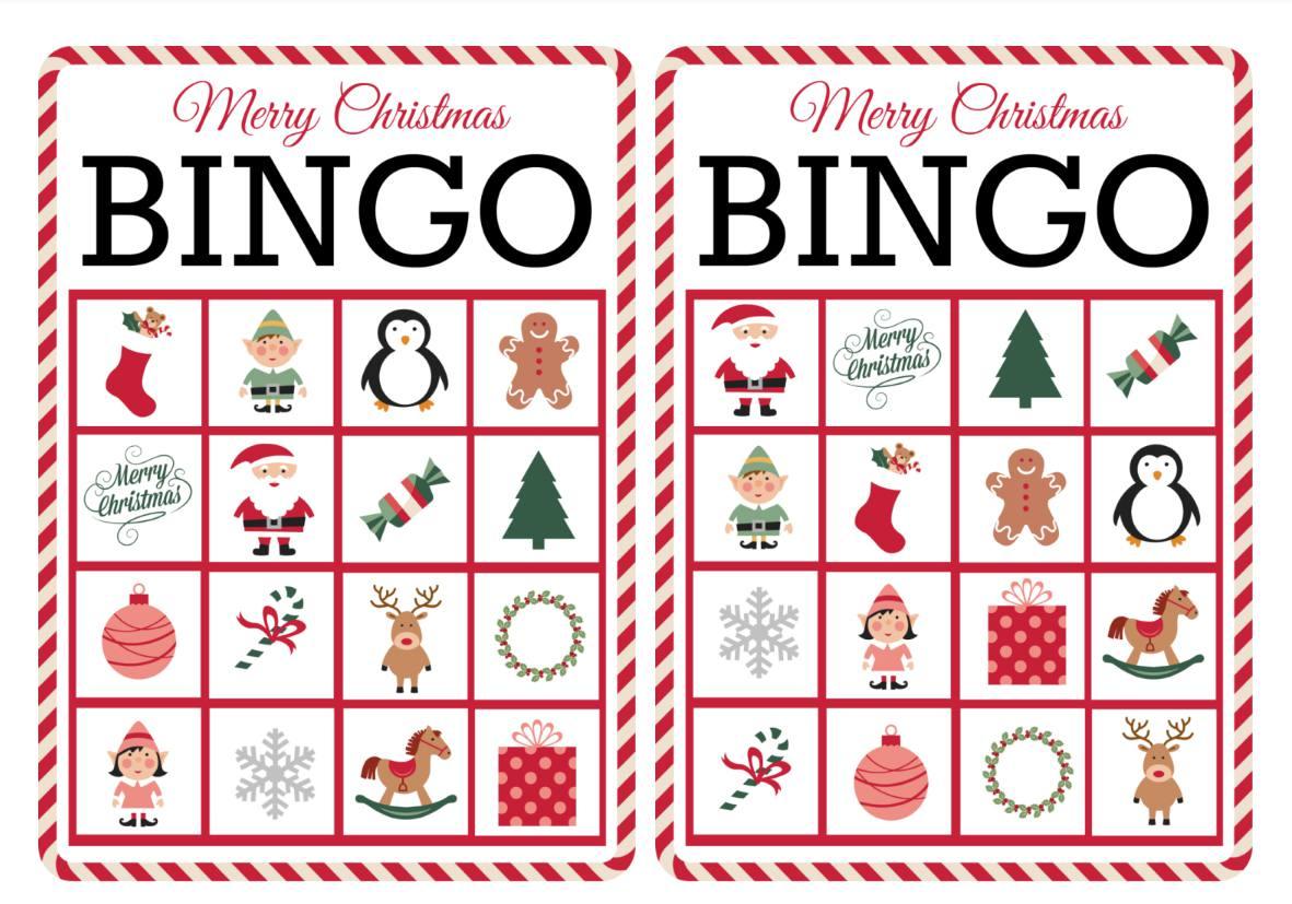 11 Juegos De Bingo Navidenos Para Imprimir Gratis Para La