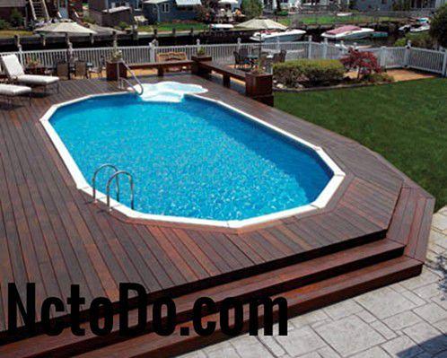 حمامات سباحة فوق الأرض تصاميم وأشكال وأحجام 2019 To Do