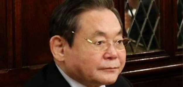 Samsung Electronics' Chairman Lee Kun-hee
