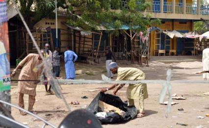 Image result for suicide bomber in Maiduguri