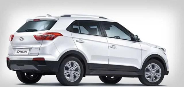 Hyundai Creta rear-side view