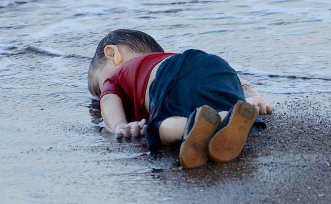 syrian boy drowns 650 afp