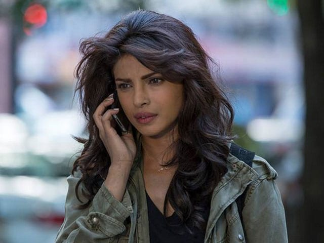 Promotional still from 'Quantico' of Priyanka Chopra's gorgeous hair