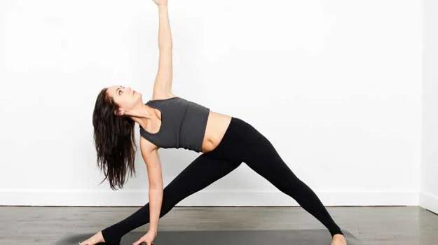 Trikonasana (Triangle Pose)   Fitness
