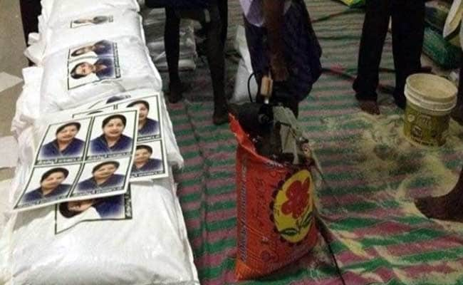In Rain-Hit Chennai, Chief Minister Jayalalithaa's Photos on Relief Material Fuel Controversy
