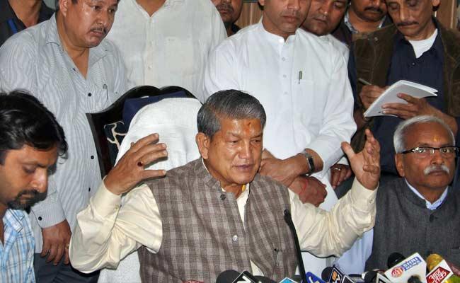 उत्तराखंड : राष्ट्रपति शासन पर हाईकोर्ट की रोक, 31 को शक्तिपरीक्षण, बागी MLA कर सकेंगे वोट