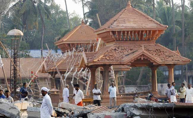 केरल मंदिर हादसे के पीड़ित के शरीर से निकाले गए कंक्रीट के आधा किलो टुकड़े