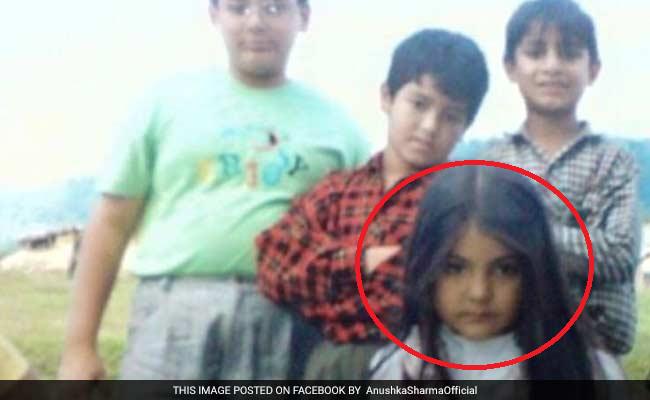 अनुष्का की बचपन की तस्वीरें : तब ऐसी दिखती थीं 'सलमान की सुल्तानी'