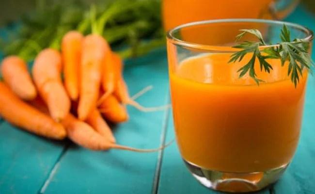 orange carrots juice