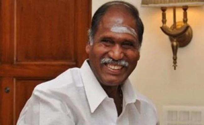 पुडुचेरी में एनआर कांग्रेस नेता रंगासामी ने सरकार बनाने का दावा किया