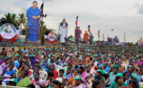 Campaign For Tamil Nadu Assembly Elections Ends Today