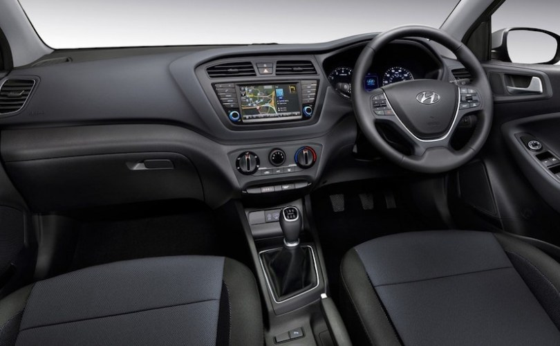 Hyundai i20 Turbo Edition Interior