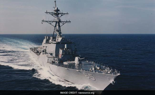 China Says It 'Drove Away' US Warship On Anniversary Of Tribunal Ruling