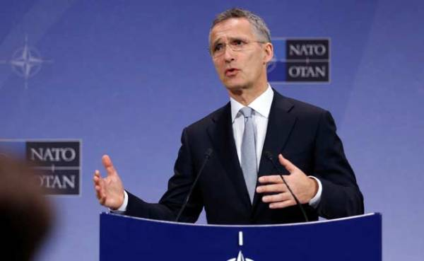NATO Chief Jens Stoltenberg Urges Full Implementation Of ...