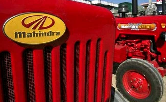 Mahindra Farm's sales were subdued in April last year due to the COVID-19 pandemic.
