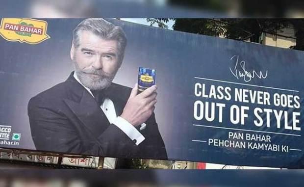 Pierce Brosnan Says He Was 'Cheated' By Pan Masala Brand
