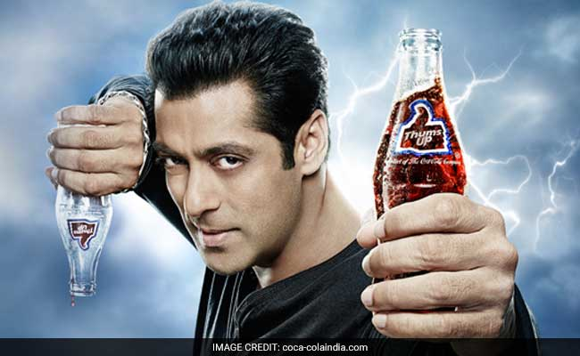Image result for salman khan removed from thums up endorsement