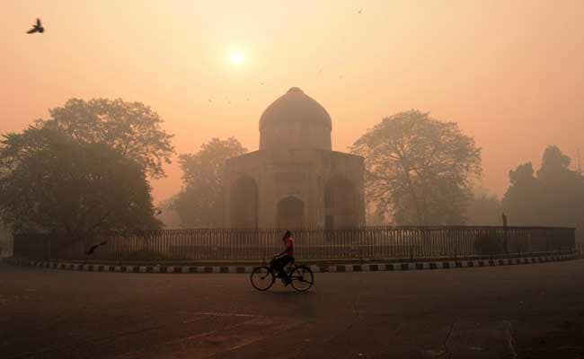 Pollution: Delhi's Air Quality Plunged Sharply In 2016, Shows Data