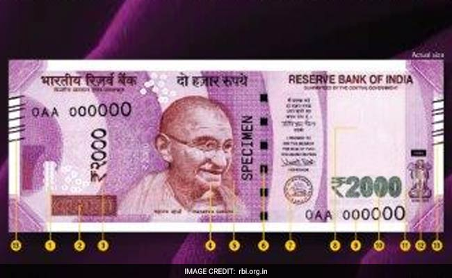 New 500, 2000 Rupee Notes Images, Features 1