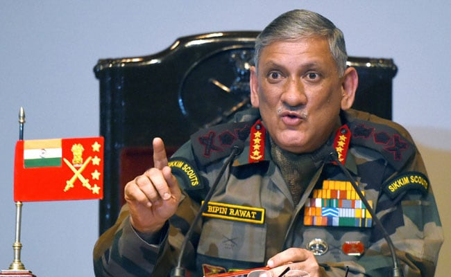 Image result for General Rawat
