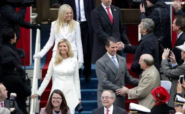 Donald Trump Sworn-In As 45th President Of United States ...