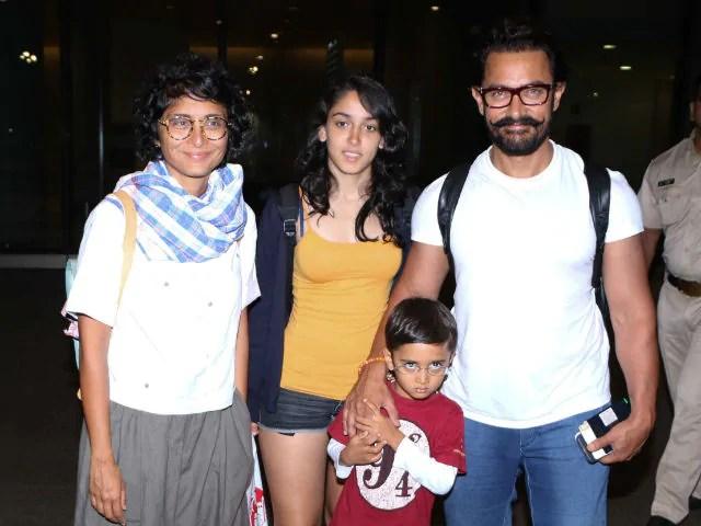 Ira Khan Family