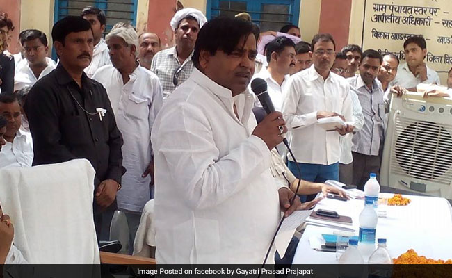 Probe Agency Files Chargesheet Against Ex-UP Minister In Money Laundering Case