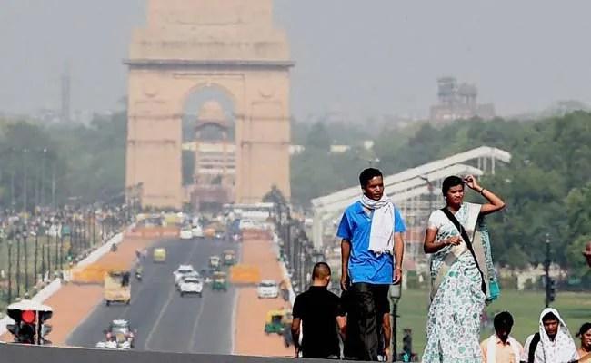 दिल्ली रिकॉर्ड अधिकतम तापमान 39.7 डिग्री