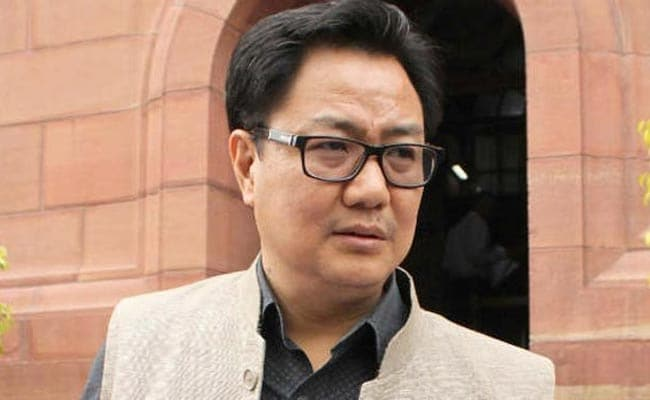 'Don't Need Lecture On Rohingyas', Kiren Rijiju Tells Human Rights Groups