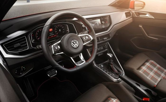 new volkswagen polo cabin