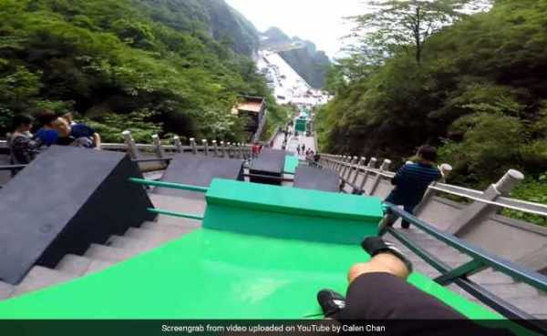 YouTuber Takes On 'World's Largest Parkour Course'. Video ...