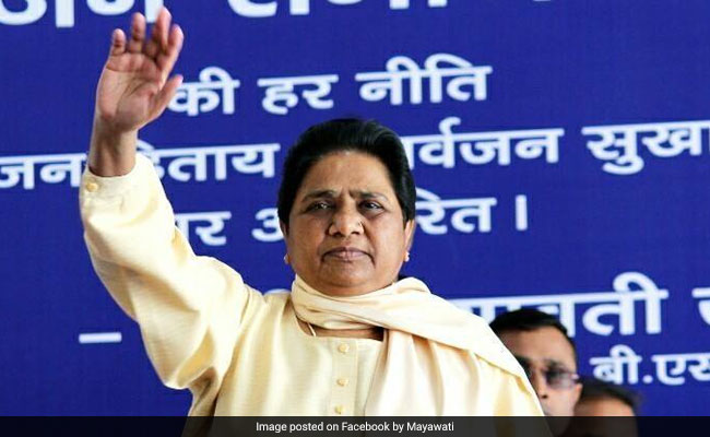 Mayawati Rules Out Joining Lalu Yadav's Rally In Patna
