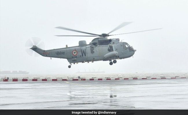 Navy Provides Shelter To Mumbaikars Stranded After Heavy Rains