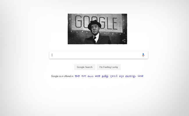 Google Celebrates James Wong Howe's 118th Birthday With A Doodle