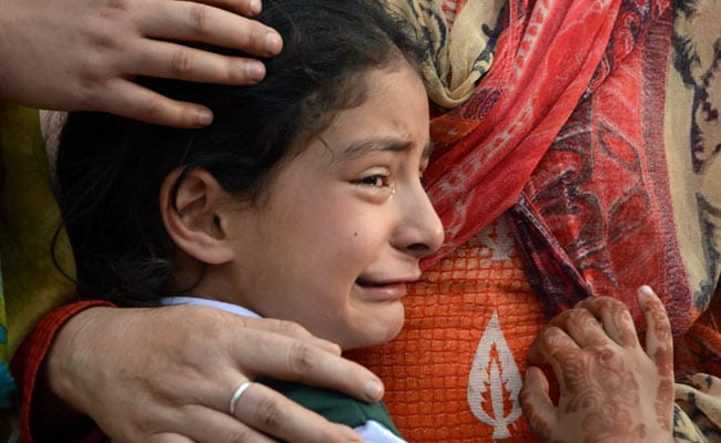 Every Tear Drop Sears Our Heart: Kashmir Police To 7-Year-Old Girl Who Lost Father