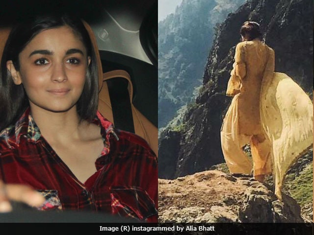 Alia Bhatta Jumped In Her Chair After Receiving Call From Bhansali