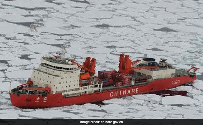 China Sent A Ship To The Arctic For Science. Then State Media Announced A New Trade Route.