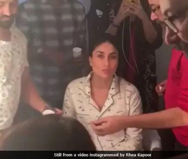 Veere Di Wedding Sets Day 1 Heres What Kareena Sonam Kapoor Were Up To