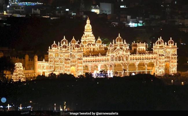 Mysuru's Famous Dasara Festivities Begin Amid COVID-19 Restrictions
