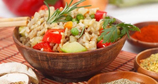 brown rice onion pilaf recipe